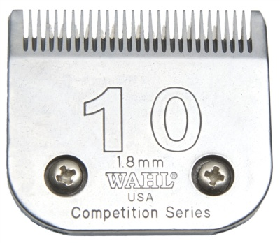 Wahl No.10 1.8mm Clipper Blade - suitable for Libretto, Saphir and Harmony Trimmers