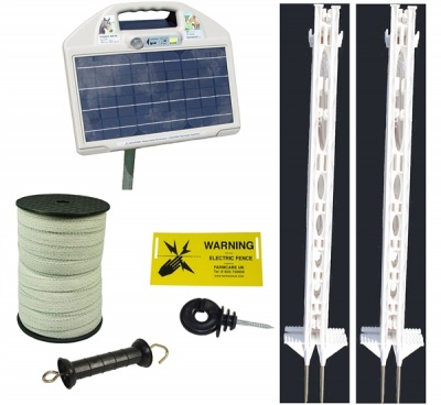 AS 70 Solar Fencing Kit Tall Posts - up to 8km