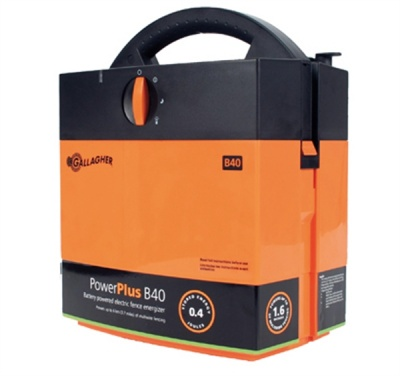 Gallagher B40 Energiser - 7 year warranty - up to 3km