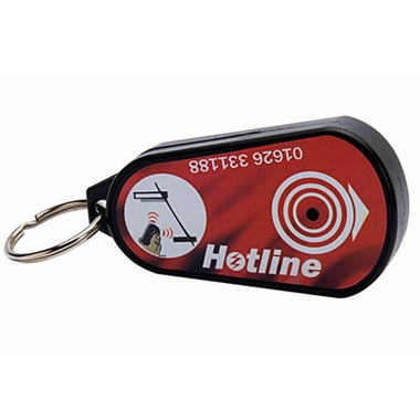 Key-ring Beeper Fence Tester