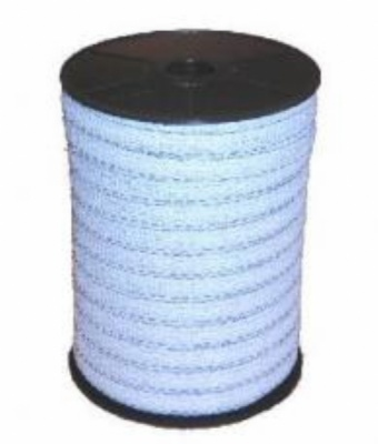 Shock White 12mm Electric Fence Tape
