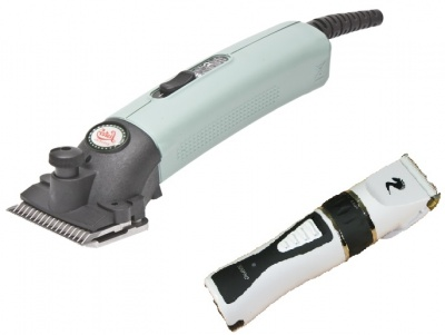 Lister Star Horse Clipper in Green and Sierra Trimmer DEAL