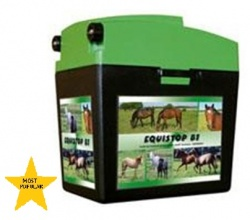 EquiSTOP B1 - most popular 9V energiser - up to 2km
