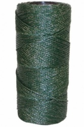 Green Twine - good for rabbit and deer fencing and on top of stock fencing