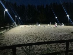Solar Arena Light Yard - a lot of light with no need for mains power