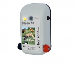 Trapper N8 Mains Energiser - for short fences - On Sale