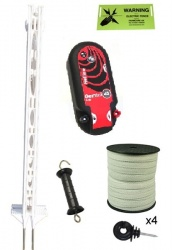 High Power  12v or Mains 3ft Post Kit