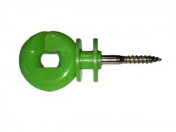 Lime Green Ring Insulators