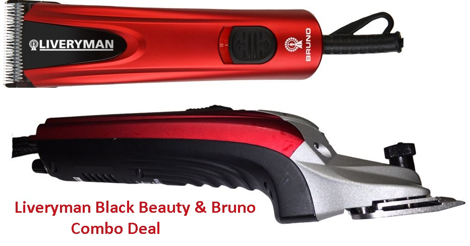 Liveryman Black Beauty and Liverman Bruno Horse Clipper Deal