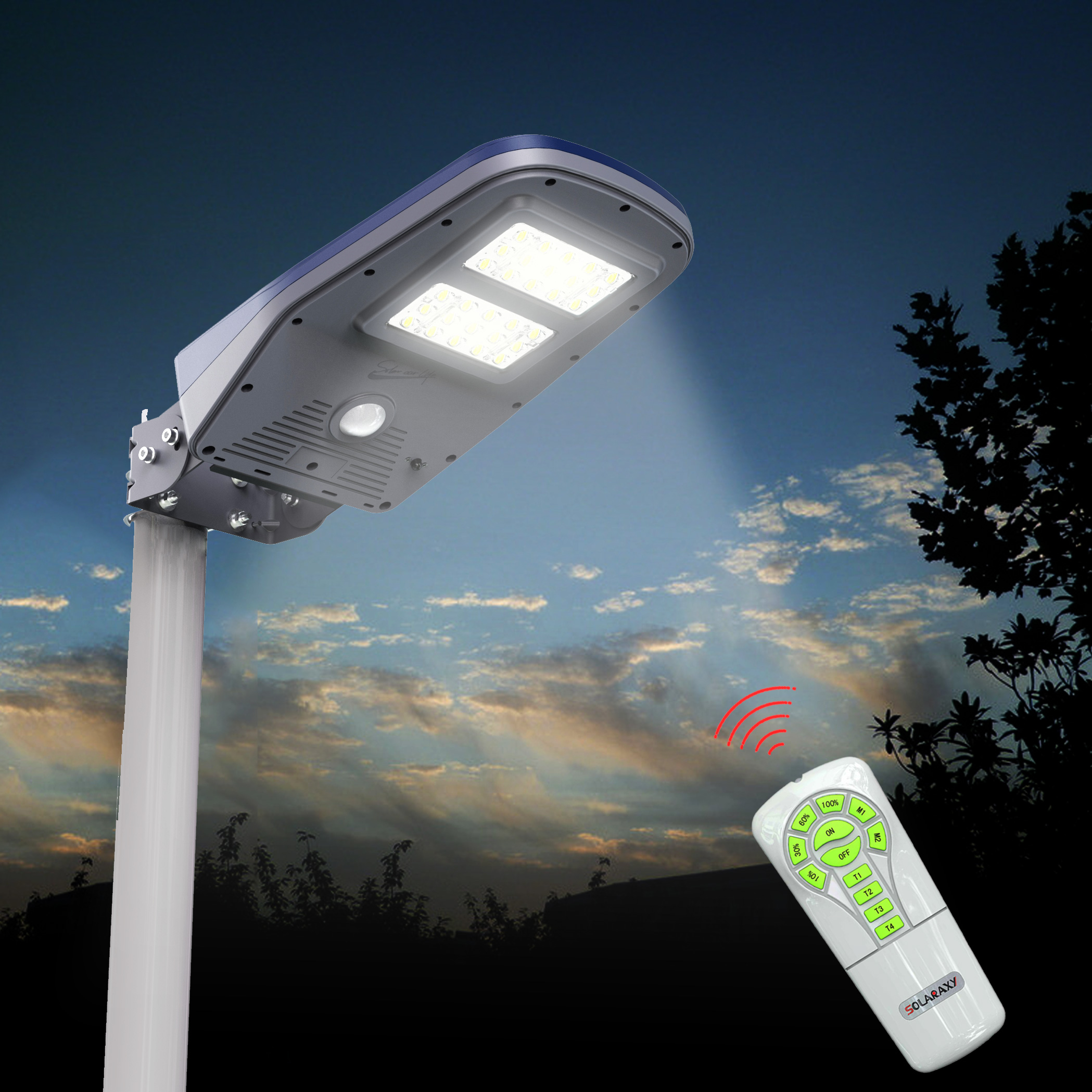 Outdoor Solar Floodlights - On SALE!
