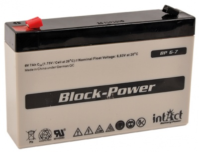 Gallagher 6V 7Ah Battery for S17 & S22