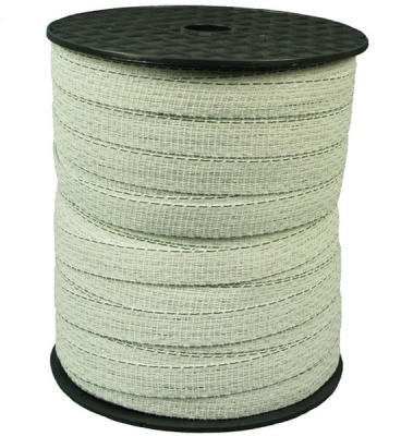 Shock 20mm White Electric Fence Tape