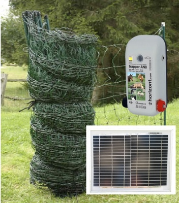 Solar Powered Poultry Net Kit- for 20m and 50m enclosures