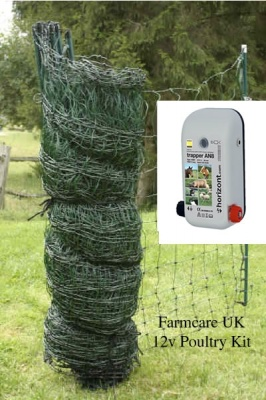 12v Poultry Net Kit Large
