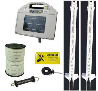 AS 35 Solar Fencing Kit Tall Posts - up to 4km