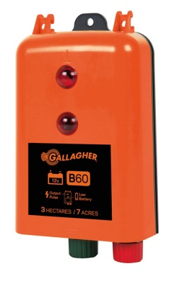 Gallagher B60 12v Energiser - 7 Year Guarantee