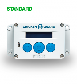 Chicken Guard Standard - Opens and shuts your chicken coop so you don't have to!