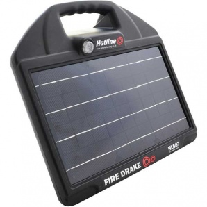 Hotline FireDrake 67 Solar Electric Fence Energiser - make life easy - up to 5km