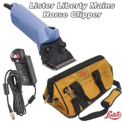 Lister Liberty Classic Mains Horse Clipper and Cattle Clipper - can also do sheep
