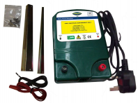 Mains Electric Fence Kit - everything you need for a 100m double line fence