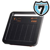 Gallagher S10 Solar Energiser - for fences up to 1km - 7 year guarantee