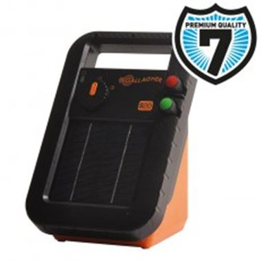 Gallagher S40 Solar Energiser All-In-One - 7 year warranty - up to 5km - 0.2 Joule