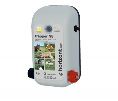 Trapper N8 Mains Energiser - for fences up to 3000m - On Sale