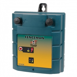 Fenceman CP450 12v Energiser - up to 3km - high power setting ideal for cheeky animals - and back-up power source