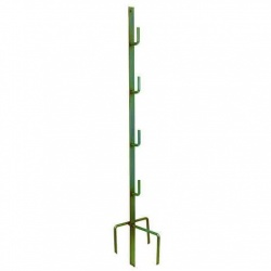 Heavy Duty Steel Corner and End Post - make your fence stroner