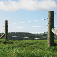 Gallagher Gate Tape Kit - a neat electric fence gate