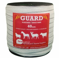 GUARD 40mm WHITE TAPE