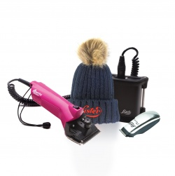 NEW Lister Liberty Lithium Yard Pack - a Mains and Cordless Clipper - with FREE Pico Trimmer and FREE Bobble Hat