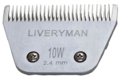 Liveryman 10W Wide Medium Blade - clips to 2.4mm