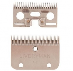 Liveryman A22 Fine Blades - clips to 1.2mm of hair