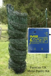 Poultry Net MAINS Kit - a powerful mains energiser to give the fox a good zap.