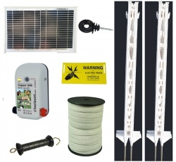 Super Solar Starter Kit Tall Post