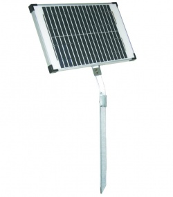 20 Watt Solar Panel and Stand - for more powerful energisers and batteries