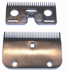 Liveryman  A2 Medium Blade - clips to 2.3mm of hair