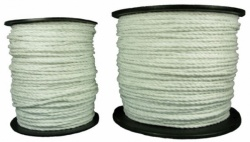 Standard White Electric Fence Rope